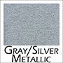 18 silver metallic - Lost River knit scarf poncho