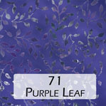 71 Purple Leaf