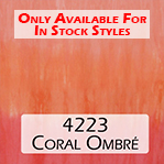 4233 coral ombre