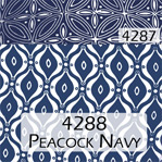 Peacock Navy 4288 Trim 4287