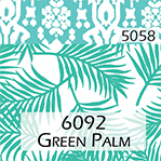 green palm trim
